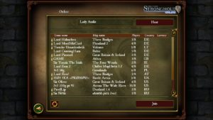 Stronghold 2 liste multijoueur