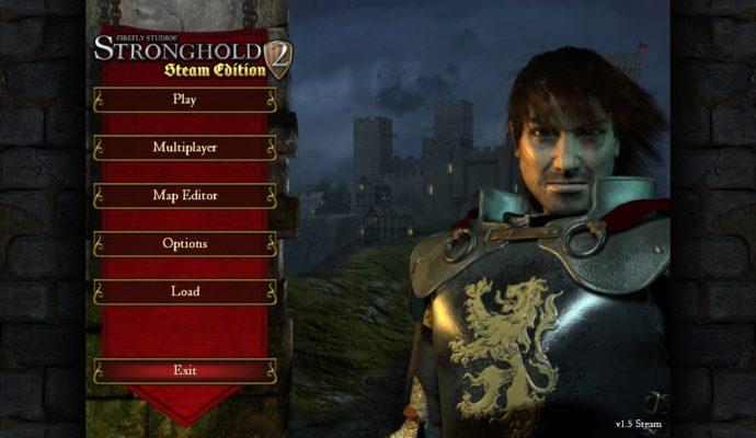 Stronghold 2 menu principal
