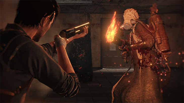 the Evil Within 2 lance flamme