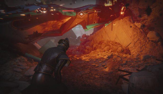 Test Destiny 2 - Caverne
