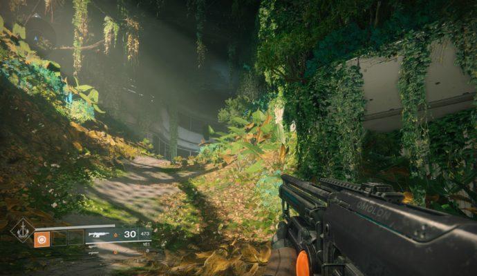 Test Destiny 2 - feuillages