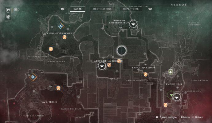Test Destiny 2 - Carte de Nessos