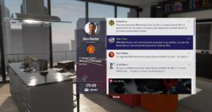 FIFA 18 - Aventure réseaux sociaux