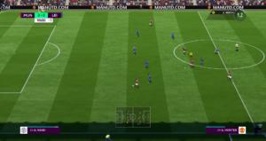 FIFA 18 -Aventure match en jeu