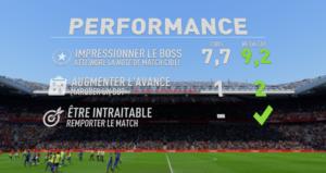 FIFA 18 - Aventure objectifs de match