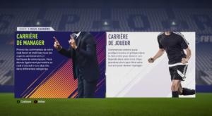FIFA 18 - Carrières