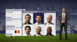 FIFA 18 - création coach