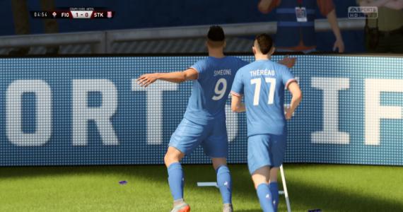 FIFA 18 - célébration