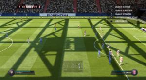 FIFA 18 - coup franc