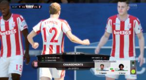 FIFA 18 - changement rapide