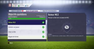 FIFA 18 - FUT objectifs