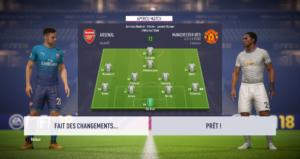 FIFA 18 - amical en ligne