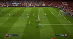 FIFA 18 - match en ligne