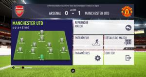 FIFA 18 - mi-temps