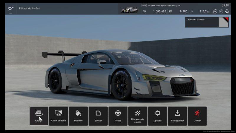 Test Gran Turismo Sport - Audi R8