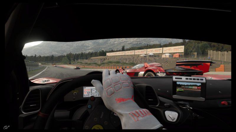 Test Gran Turismo Sport - Vue intérieur
