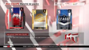 NBA 2K18 - achat de paquets