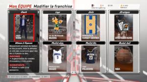 NBA 2K18 - cartes variées