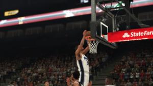 NBA 2K18 - dunk