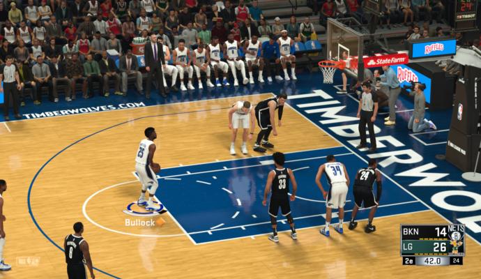 NBA 2K18 - lancer franc