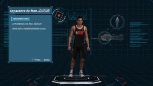 NBA 2K18 - création joueur