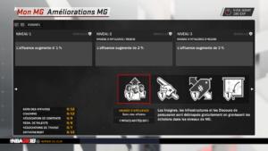 NBA 2K18 - amélioration MG