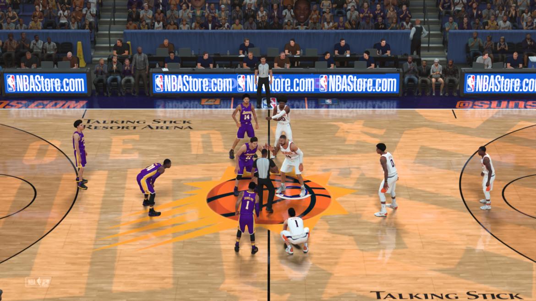 NBA 2K18 - coup d'envoi