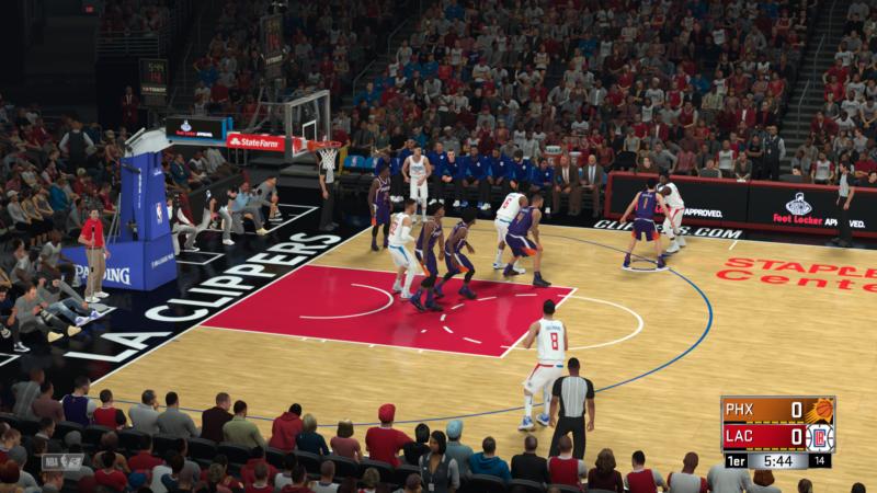 NBA 2K18 - gameplay
