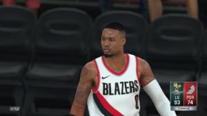 NBA 2K18 - Damian Lillard