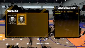 NBA 2K18 - insignes Ma carrière