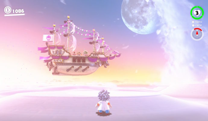Test Super Mario Odyssey - Le vaisseau de Bowser