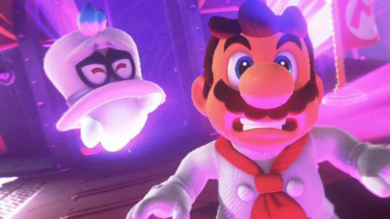 Test Super Mario Odyssey - Mario et Cappy