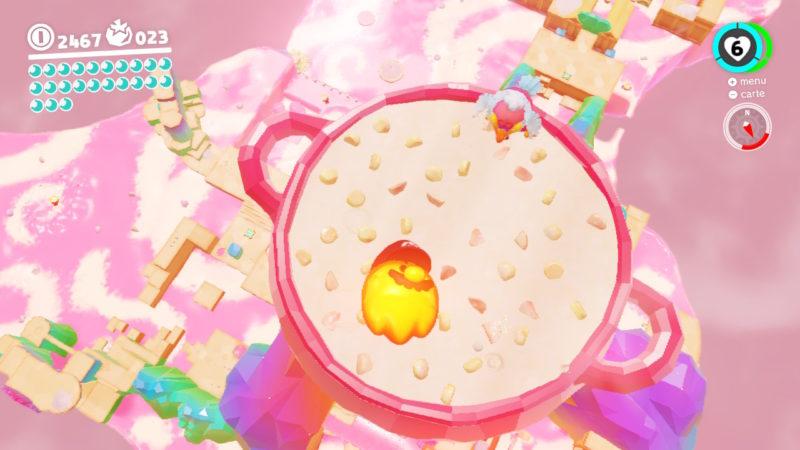Test Super Mario Odyssey - Boss du pays de la cuisine
