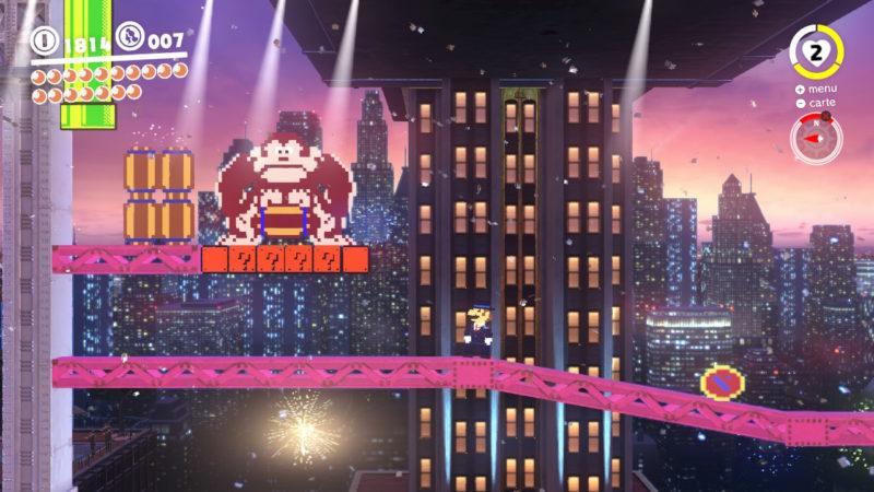 Test Super Mario Odyssey - Donkey Kong