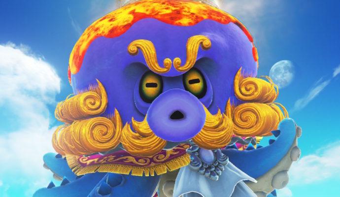 Test Super Mario Odyssey - Boss de la mer
