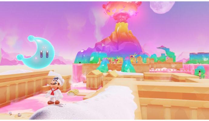 Test Super Mario Odyssey - Une lune au pays de la cuisine