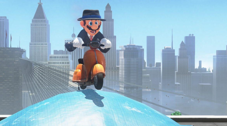Test Super Mario Odyssey - Mario en scooter