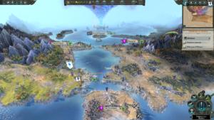 Total War Warhammer II - carte gestion 2