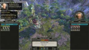 Total War Warhammer II - combat préparation