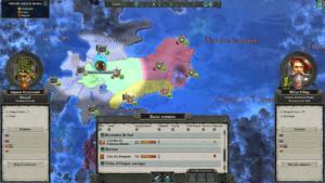 Total War Warhammer II - carte diplomatie