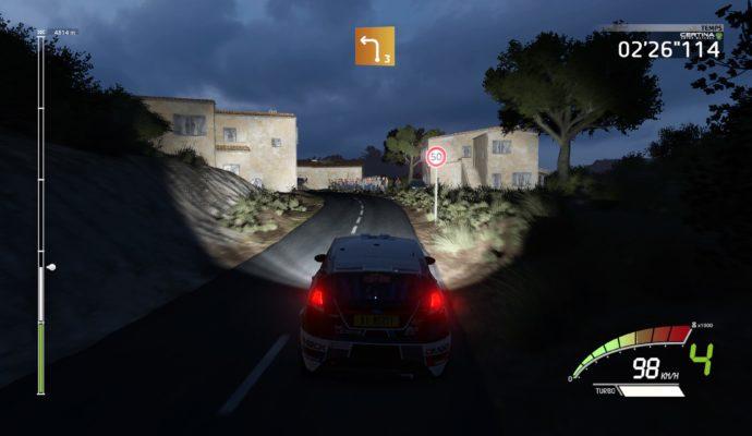 Test WRC 7 - Course de nuit