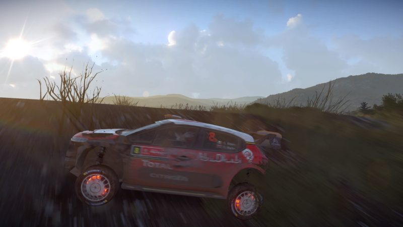 Test WRC 7 - DS3 accident