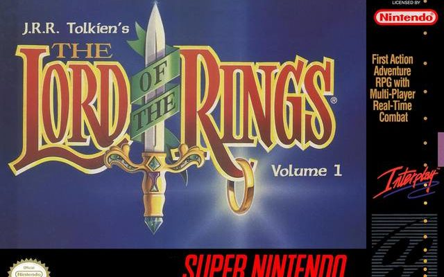 The lord of the rings Vol 1