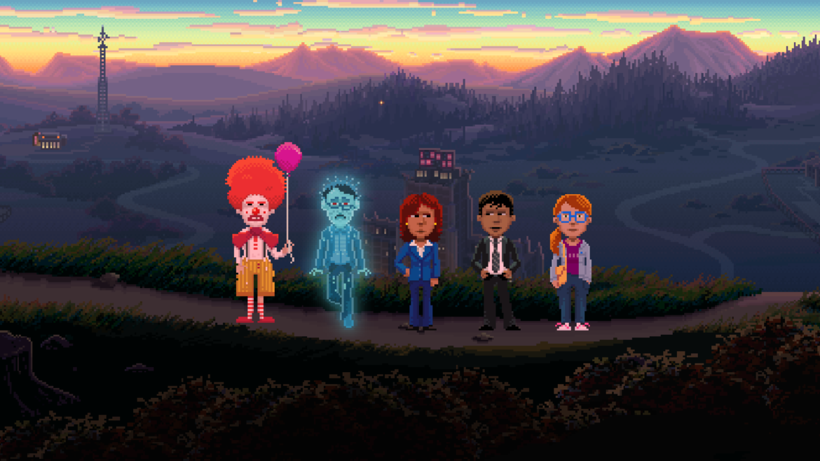 Thimbleweed Park personnages jouables