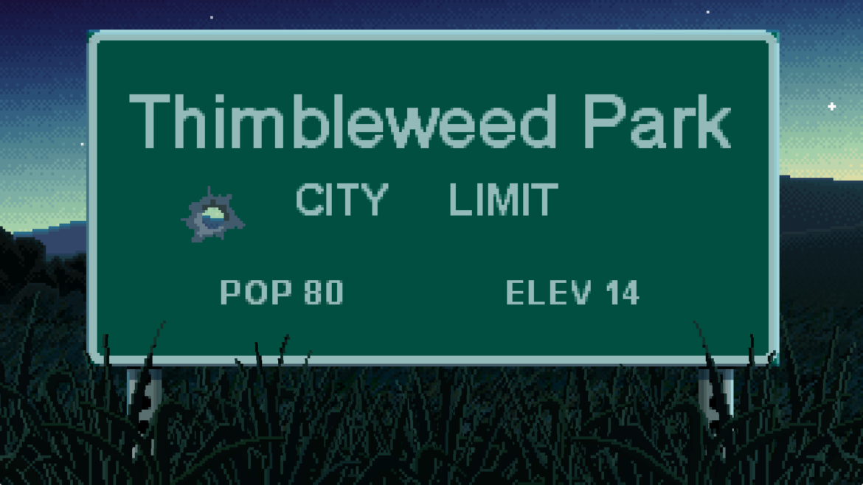 Thimbleweed Park panneau