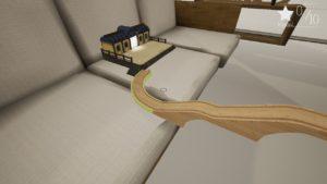 Tracks: The Train Set Game création voie vers la gare