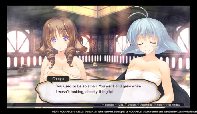 Utawarerumono: Mask of Truth dialogue
