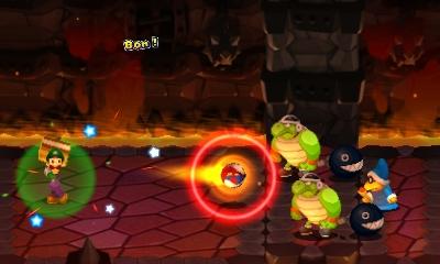Mario & Luigi : Superstar Saga + Les sbires de Bowser combat