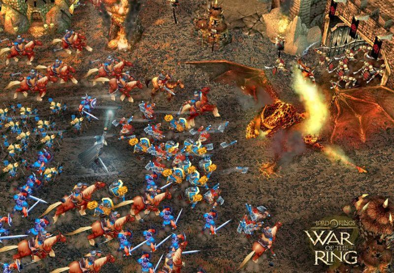 La Guerre de l'Anneau bataille