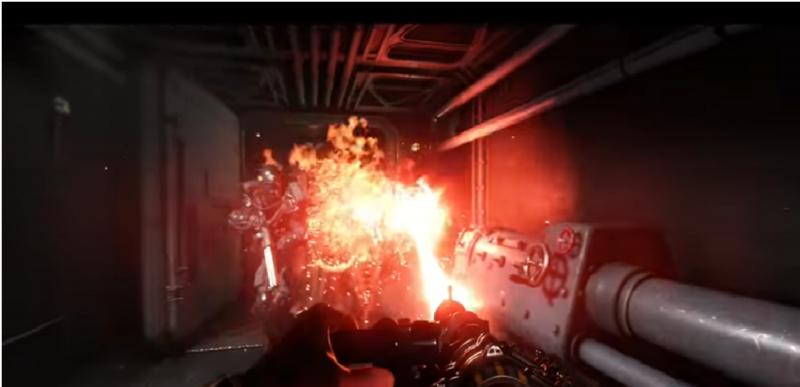 Wolfenstein II: The New Colossus canon laser